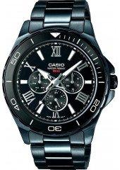 Мужские часы CASIO MTD-1075BK-1A1VEF