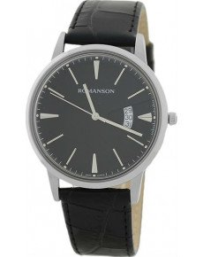 Мужские часы ROMANSON TL4201MWH BK