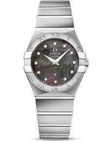 OMEGA CONSTELLATION QUARTZ 27 ММ 123.10.27.60.57.003