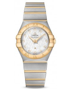 OMEGA CONSTELLATION QUARTZ 27 ММ 123.20.27.60.52.001