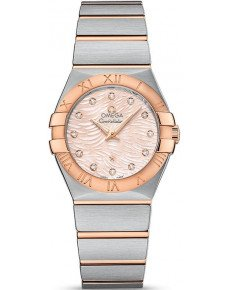 OMEGA CONSTELLATION QUARTZ 27 ММ 123.20.27.60.57.004
