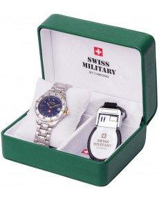 Мужские часы SWISS MILITARY 13800BI-6M
