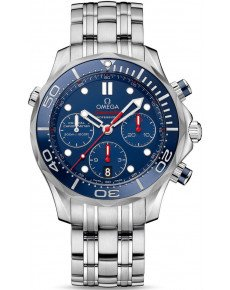 OMEGA SEAMASTER DIVER 300M CO‑AXIAL CHRONOGRAPH 44 MM 212.30.44.50.03.001