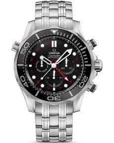 OMEGA CO‑AXIAL GMT CHRONOGRAPH 212.30.44.52.01.001