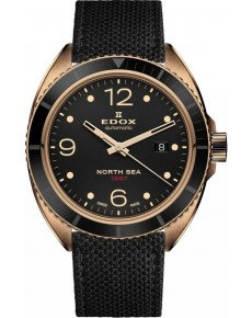 EDOX NORTH SEA 1967 AUTOMATIC HISTORICAL LIMITED EDITION 0/320 80118 BRN N67
