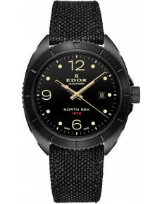 EDOX NORTH SEA 1978 AUTOMATIC SPECIAL EDITION THE INVERSE MOON LANDING 80118 37N N78