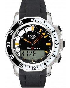 Мужские часы TISSOT T026.420.17.281.00 SEA-TOUCH
