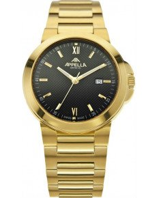 Мужские часы APPELLA A-4107-1004