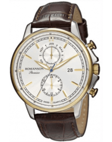 Мужские часы ROMANSON PB3251FM2T WH