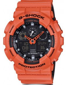 Мужские часы CASIO GA-100L-4AER