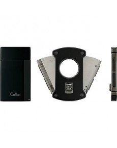 Зажигалка с гильотиной COLIBRI Co82101gs-c
