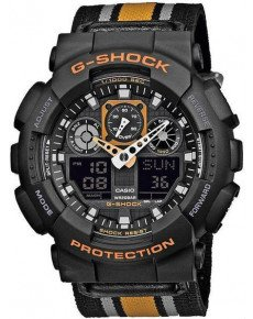 Мужские часы CASIO G-Shock GA-100MC-1A4ER