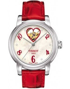 Женские часы TISSOT LADY HEART AUTOMATIC T050.207.16.116.02