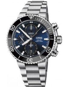 Oris Diving Aquis Chronograph 774.7743.4155 MB 8.24.05PEB