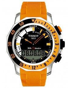 Мужские часы TISSOT T026.420.17.281.02 SEA-TOUCH