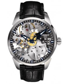 Мужские часы TISSOT T-COMPLICATION SQUELETTE T070.405.16.411.00