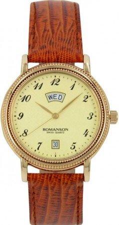 Мужские часы ROMANSON TL0159SMG GD