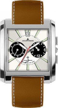 Мужские часы JACQUES LEMANS 1-1442B
