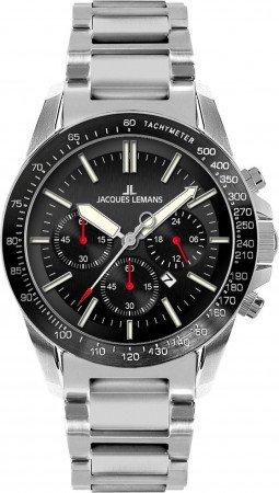 Мужские часы JACQUES LEMANS 1-1674A
