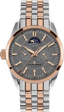 Мужские часы JACQUES LEMANS 1-1596H