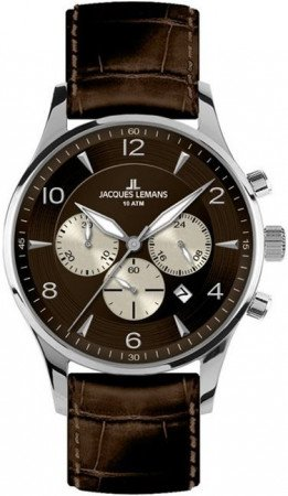 Мужские часы JACQUES LEMANS 1-1654D