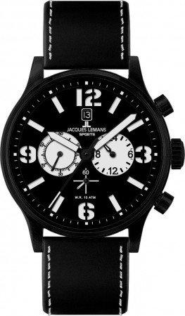 Мужские часы JACQUES LEMANS 1-1659A