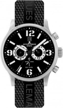 Мужские часы JACQUES LEMANS 1-1659B
