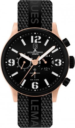 Мужские часы JACQUES LEMANS 1-1659E