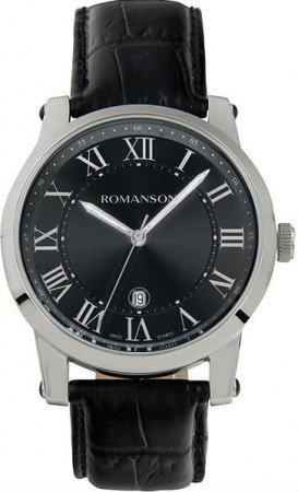 Мужские часы ROMANSON TL0334MWH BK (R)