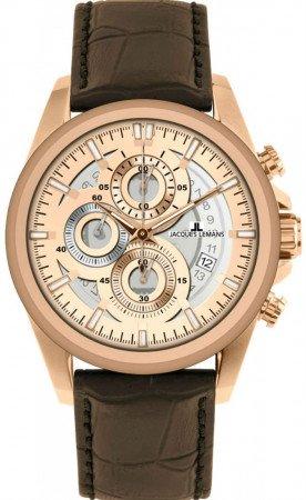 Мужские часы JACQUES LEMANS 1-1847D