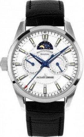 Мужские часы JACQUES LEMANS 1-1596B