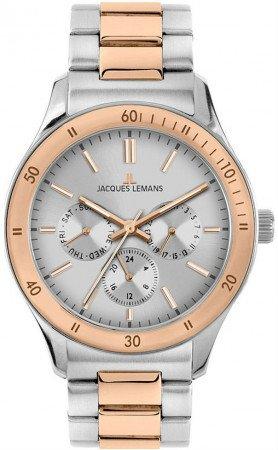 Мужские часы JACQUES LEMANS 1-1691ZI