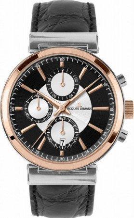 Мужские часы JACQUES LEMANS 1-1699B