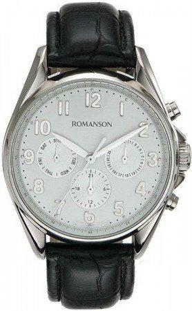 Мужские часы ROMANSON TL7258MWH WH