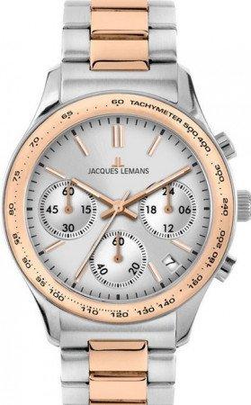 Мужские часы JACQUES LEMANS 1-1586ZI