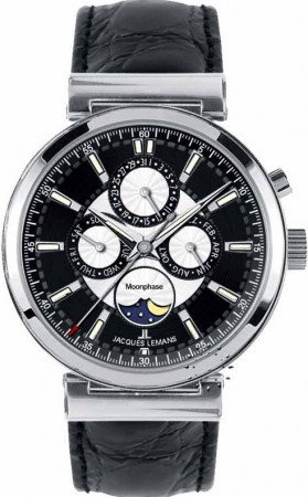 Мужские часы JACQUES LEMANS 1-1698A