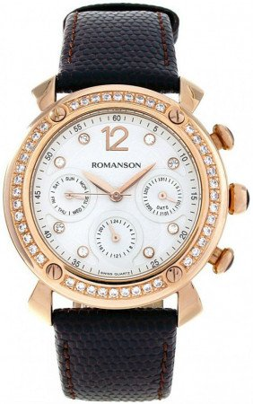 Женские часы ROMANSON RL2636QLRG WH