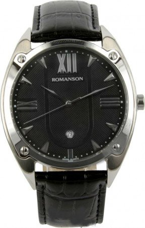 Мужские часы ROMANSON TL1272MWH BK
