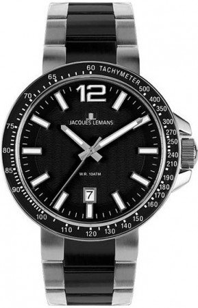 Мужские часы JACQUES LEMANS 1-1711A