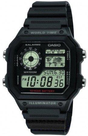 Мужские часы CASIO AE-1200WH-1AVEF