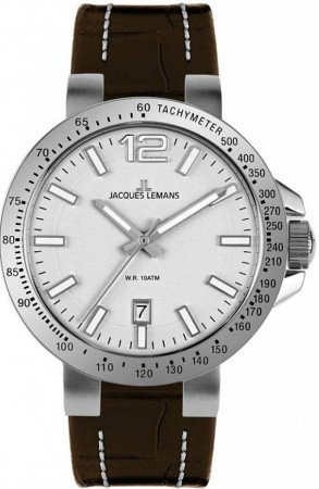 Мужские часы JACQUES LEMANS 1-1718B
