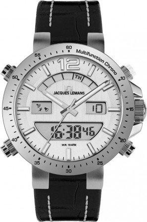 Мужские часы JACQUES LEMANS 1-1713B