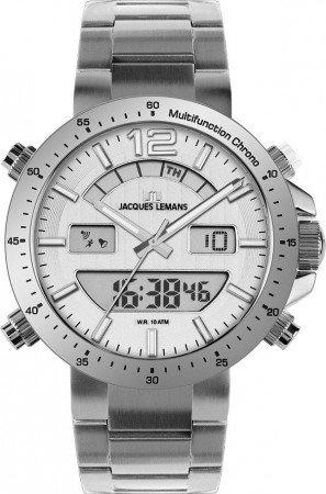 Мужские часы JACQUES LEMANS 1-1713D