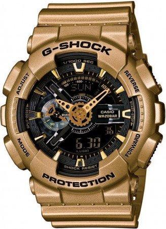 Мужские часы CASIO GA-110GD-9BER