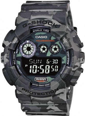 Мужские часы CASIO G-Shock GD-120CM-8ER