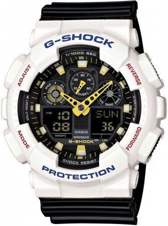 Мужские часы CASIO G-Shock GA-100CS-7AER