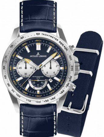 Мужские часы JACQUES LEMANS 1-1756C
