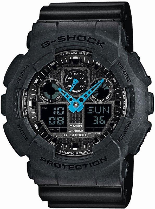 мужские часы casio g shock ga 100 1a4er список самых популярных
