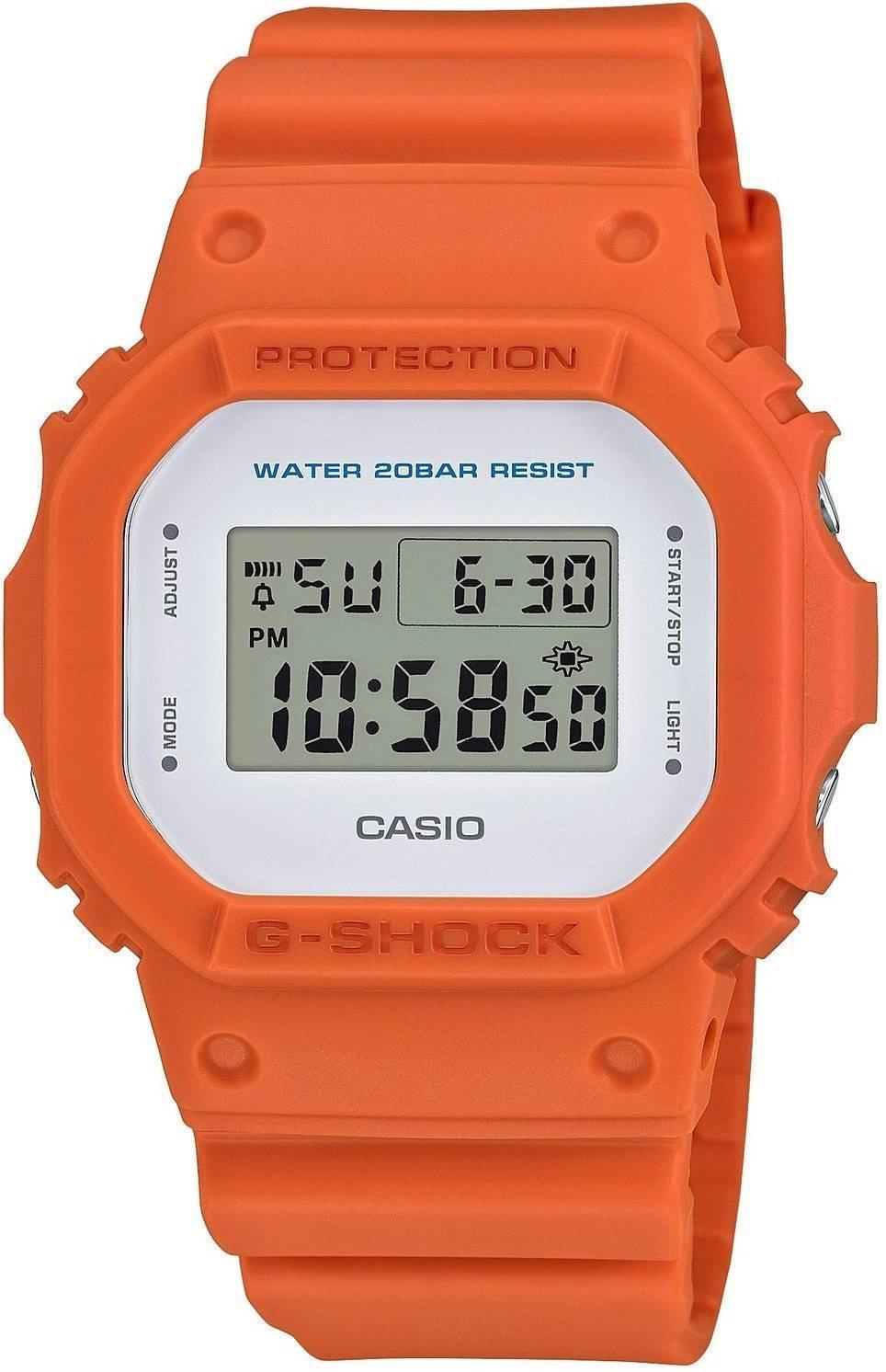 Квадратные мужские часы casio g shock