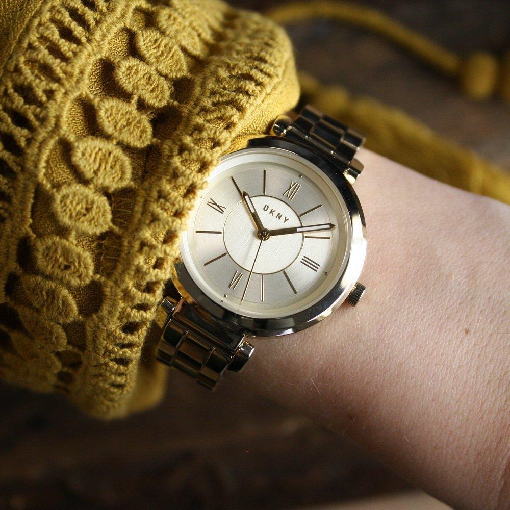 Женские часы DKNY NY2583 Мужские часы Ingersoll IN1502BK